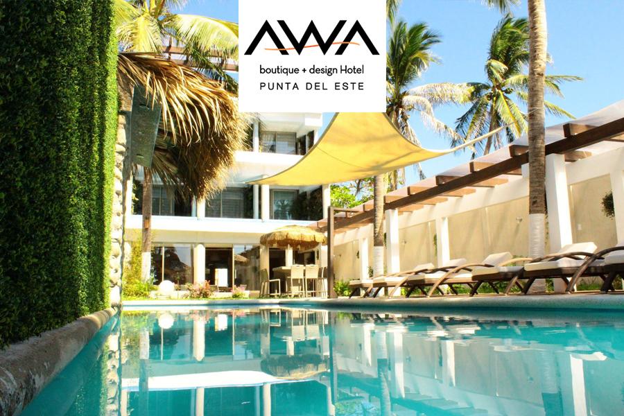 Ns hoteles casos de xito for Awa design boutique hotel punta del este